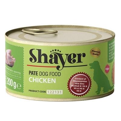 تصویر کنسرو Shayer مخصوص سگ تهیه شده از گوشت مرغ - 200گرم