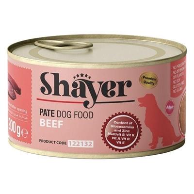 تصویر کنسرو Shayer مخصوص سگ تهیه شده از گوشت گوساله - 200 گرم