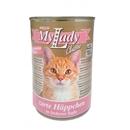 تصویر کنسرو My Lady مخصوص گربه بالغ با طعم گوشت خرگوش  - 415گرم