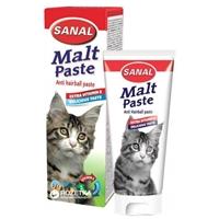 تصویر خمیر مالت مخصوص گربه Sanal  همراه با مولتی ویتامین -100گرم