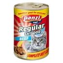 تصویر کنسرو Panzi مدل Regular Cat مخصوص گربه با طعم گوشت گوساله 415 گرم