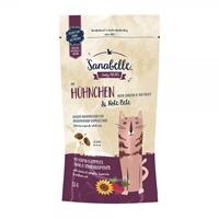 تصویر تشویقی Sanabelle مخصوص گربه بالغ با طعم مرغ و ترب - 55 گرم