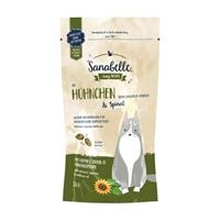 تصویر تشویقی Sanabelle مخصوص گربه بالغ با طعم مرغ و اسفناج - 55 گرم