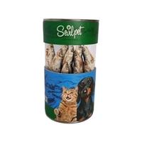 تصویر تشویقی SevilPet مدل Black Sean Sprat Snack مخصوص سگ و گربه - 100 گرم
