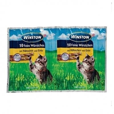 تصویر تشویقی مدادی Winston مخصوص گربه با طعم مرغ و جگر - 50 گرم