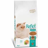 تصویر غذای خشک Reflex مخصوص گربه عقیم شده تهیه شده از گوشت ماهی - 15 کیلوگرم