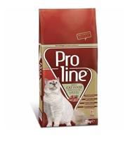 تصویر غذای خشک Pro Line مخصوص گربه بالغ تهیه شده از گوشت بره و برنج - 15 کیلوگرم