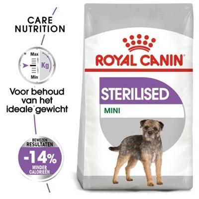 تصویر غذای خشک Royal Canin مدل STERILISED مخصوص سگ های عقیم شده نژاد کوچک - 1 کیلو گرم