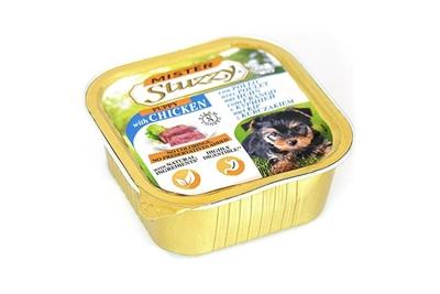 تصویر خورا کاسه ای stuzzy با طعم گوشت  مرغ مخصوص توله سگ - 150 گرم
