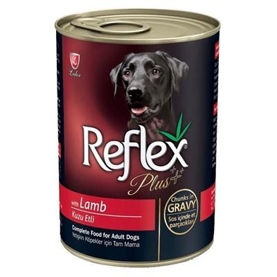 تصویر کنسرو Reflex مخصوص توله ها با طعم گوشت گوسفند 415 گرمی