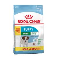 تصویر غذای خشک Royal Canin مدل mini puppy  مخصوص توله های سگ نژاد کوچک  - 800 گرم