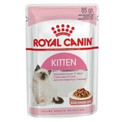 تصویر پوچ Royal Canin مدل Kitten gravy مخصوص بچه گربه - 85 گرم