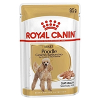 تصویر پوچ سگ مخصوص نژادpoodle محصول برند Royal canin