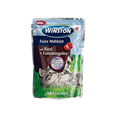 تصویر پوچ Winston تهیه شده از گوشت گاو مخصوص گربه - 100 گرم