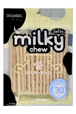 تصویر تشویقی Milky chew فلورایدی مدادی 30 عددی با طعم شیر