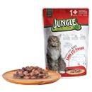 تصویر پوچ گربه Jungle با طعم گوشت گوساله