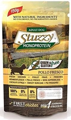 تصویر پوچ مخصوص سگ Stuzzy مدل MonoProtein با طعم مرغ