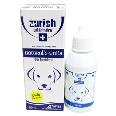 تصویر پاک کننده رد اشک  چشمZurich  مخصوص سگ - 50 میلی لیتر