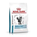 تصویر غذای خشک royal canin مدل skin and coat مخصوص گربه -1.5 کیلوگرم