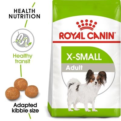 تصویر غذای خشک Royal Canin مخصوص سگ های بالغ نژاد خیلی کوچک (شرکتی) - ۳ کیلوگرم