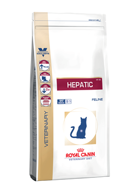 تصویر غذای خشک مخصوص گربه Royal Canin مدل Hepatic (شرکتی)  - 2 کیلوگرم