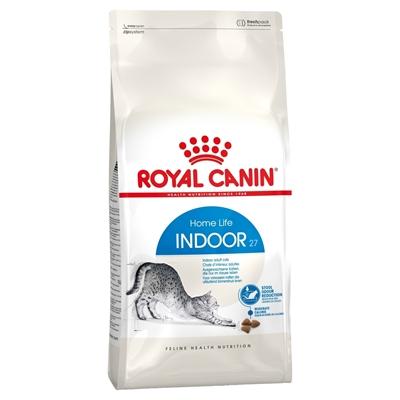 تصویر غذای خشک Royal Canin مدل Home Indoor مخصوص گربه بالغ مو کوتاه - 4 کیلوگرم