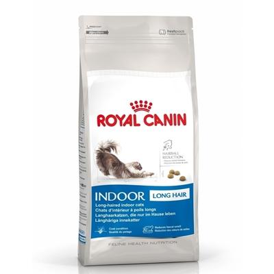 تصویر غذای خشک Royal Canin مدل Home Life Indoor مخصوص گربه بالغ مو بلند - 2 کیلوگرم