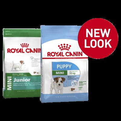 تصویر غذای خشک Royal Canin مدل mini puppy  مخصوص توله های سگ نژاد کوچک  - ۴ کیلوگرم