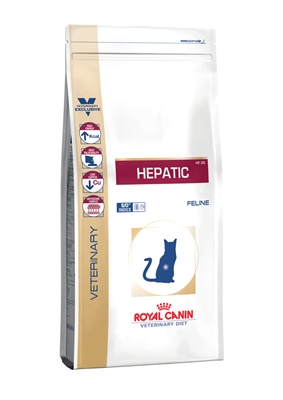 تصویر غذای خشک Royal Canin مدل Hepatic مخصوص گربه - 2 کیلوگرم
