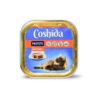 تصویر ووم مخصوص گربه Coshida تهیه شده از مرغ  - 100 گرم