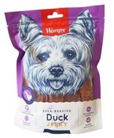 تصویر تشویقی Wanpy مخصوص سگ مدل Duck Jerky تهیه شده از اردک - 100 گرم
