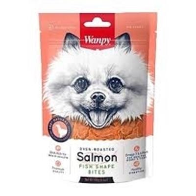 تصویر تشویقی Wanpy مخصوص سگ با طعم ماهی سالمون - 100 گرم