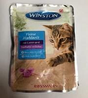 تصویر پوچ مخصوص گربه winston تهیه شده از گوشت بره در ژله بوقلمون - 100 گرم
