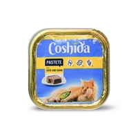 تصویر ووم مخصوص گربه Coshida تهیه شده از بوقلمون - 100 گرم