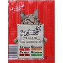 تصویر تشویقی مدادی Cachet مخصوص گربه با طعم مرغ و سبزیجات- 80گرم
