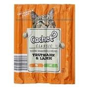 تصویر تشویقی مدادی Cachet مخصوص گربه با طعم گوشت بره و بوقلمون- 50گرم