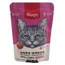 تصویر پوچ wanpy مخصوص گربه تهیه شده از تن و ماهی قزل آلا - 80 گرم