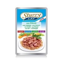 تصویر پوچ مخصوص گربه بالغ stuzzy با طعم مرغ در ژله - 100 گرم