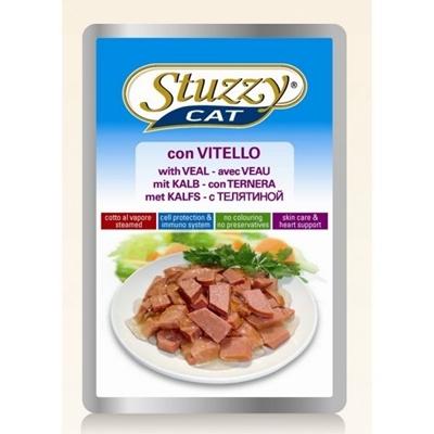 تصویر پوچ گربه بالغ stuzzy با طعم گوشت گاو - 100گرم