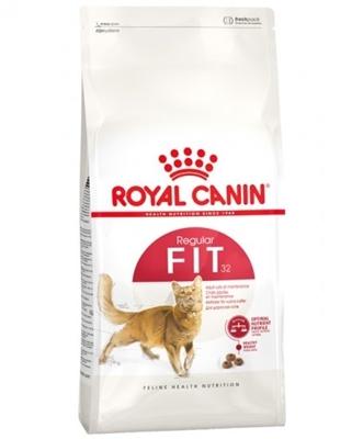 تصویر غذای خشک گربه Royal canin مدل Regular Fit مخصوص گربه با فعالیت بدنی عادی - 4کیلوگرم