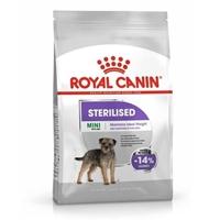 تصویر غذای خشک مخصوص سگ Royal Canin مدل Mini Sterilised مخصوص سگ های عقیم شده نژاد کوچک - 3 کیلوگرم