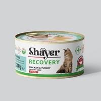 تصویر کنسرو ریکاوری Shayer مخصوص گربه با طعم مرغ و بوقلمون - 200 گرم