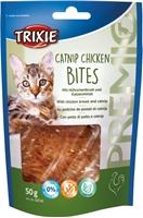 تصویر تشویقی مخصوص گربه Trixie مدل Catnip Chicken Bites تهیه شده از سینه مرغ و کت نیپ