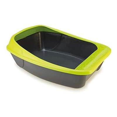 تصویر ظرف خاک گربه MPS مدل Virgo - رنگ سبز