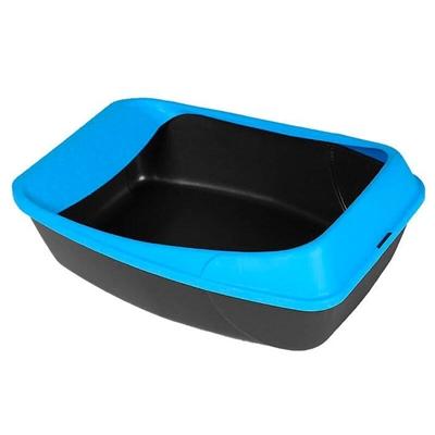 تصویر ظرف خاک گربه MPS مدل Virgo - رنگ آبی