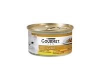 تصویر کنسرو چانک مخصوص گربه بالغ Gourmet Gold تهیه شده از مرغ _85 گرم
