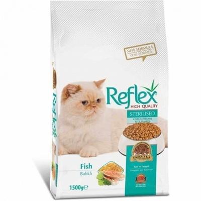 تصویر غذا خشک Reflex مخصوص گربه های عقیم شده-1.5کیلوگرم