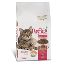 تصویر غذا خشک Reflex مخصوص گربه های بالغ تهیه شده از مرغ -1.5 کیلوگرم