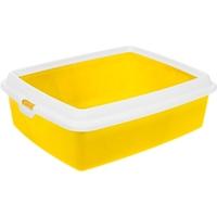 تصویر ظرف خاک گربه MPS مدل Hydra Maxi - رنگ زرد