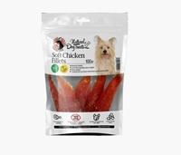 تصویر تشویقی طبیعی مخصوص سگ Hapoo meal مدل SoftFillets Chicken فیله مرغ نرم - 100 گرم